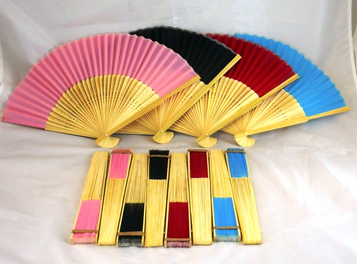 "9"" Colour Fan (Plain)"