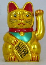 "5"" Beckoning Cat (Gold)"