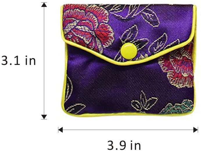Medium Embroidery Purse (12 Pack)