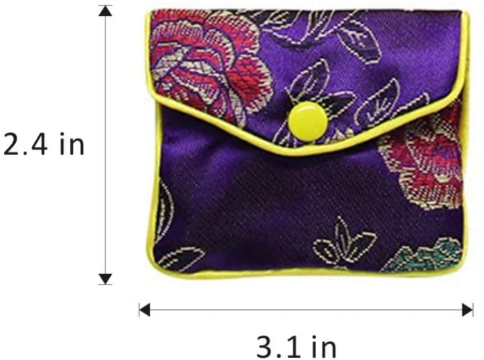 Small Embroidery Purse (12 Pack)
