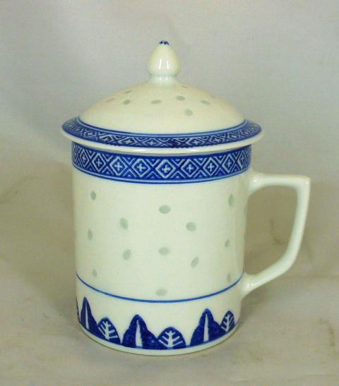 Rice Porcelain Mug