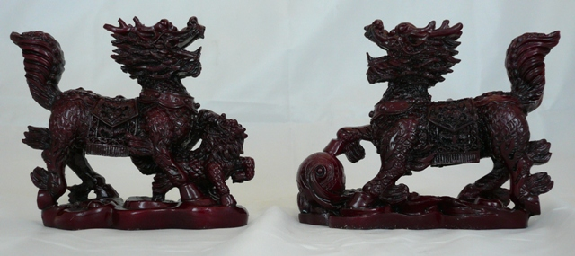 "4"" Red Qi Lin"