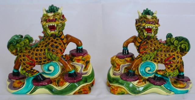 Colour Poly Resin Qi Lin