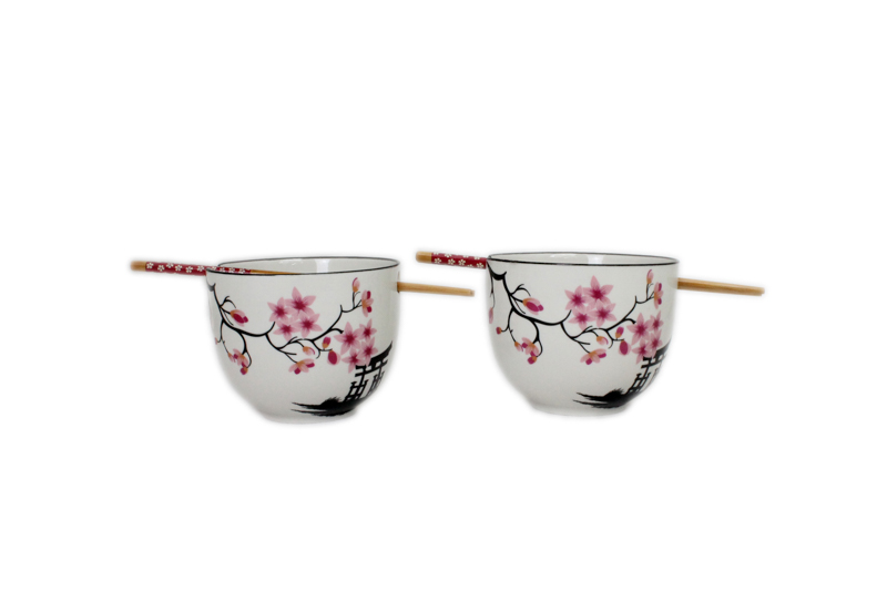 Pair Japanese Style Bowls - Zen Gate