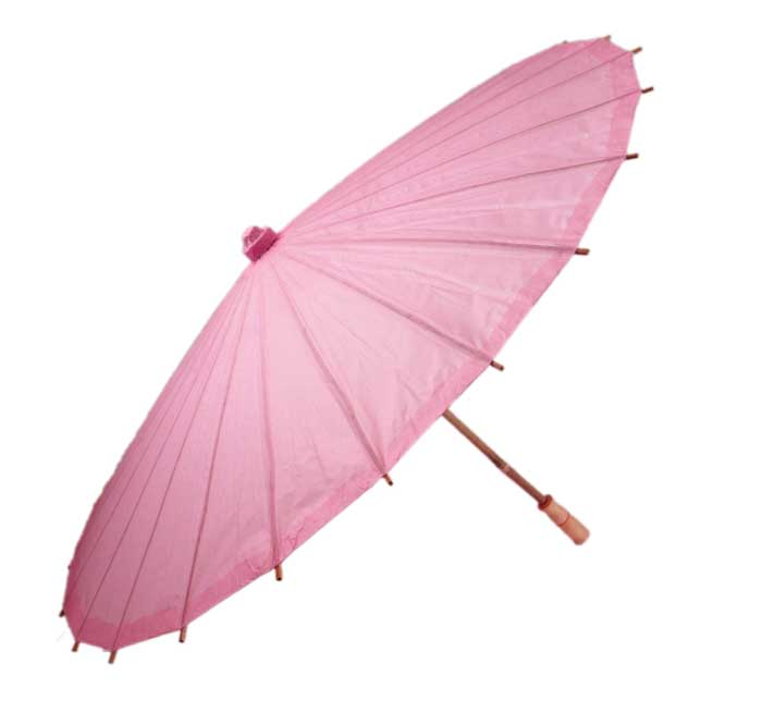Pink Paper Chinese Parasol
