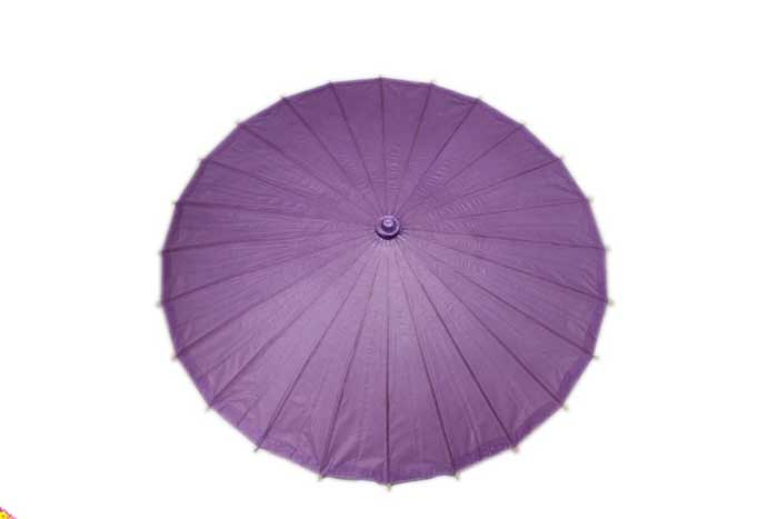 Purple Paper Chinese Parasol