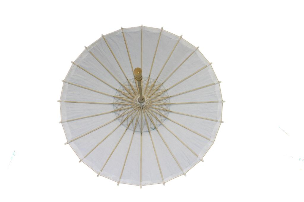White Paper Chinese Parasol