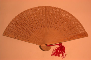 Perfumed Wooden Fan